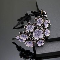 Floral Claw Hair Clips-Hair Clips-online-Purple-hair-extensions-wigs.com
