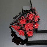 Floral Claw Hair Clips-Hair Clips-online-Red-hair-extensions-wigs.com