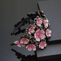 Floral Claw Hair Clips-Hair Clips-online-Rose-hair-extensions-wigs.com