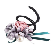 Hair Bun Maker, Floral Ribbon Hair Bun Maker-Hair Bun Maker-online-Color E-hair-extensions-wigs.com