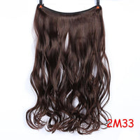 Hair Extensions, 24 Inch Invisible Wire Hair Extensions-Hair Extensions-online-2I33 2-hair-extensions-wigs.com