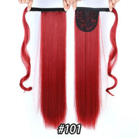 Hair Extensions, Straight Clip In Synthetic Ponytail-Hair Extensions-online-101-hair-extensions-wigs.com
