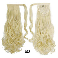 Hair Extensions, Straight Clip In Synthetic Ponytail-Hair Extensions-online-102 1-hair-extensions-wigs.com