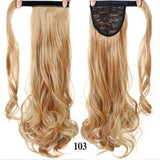 Hair Extensions, Straight Clip In Synthetic Ponytail-Hair Extensions-online-103 1-hair-extensions-wigs.com