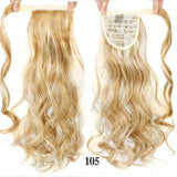Hair Extensions, Straight Clip In Synthetic Ponytail-Hair Extensions-online-105 1-hair-extensions-wigs.com