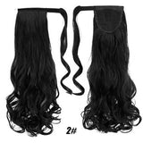 Hair Extensions, Straight Clip In Synthetic Ponytail-Hair Extensions-online-2-hair-extensions-wigs.com