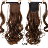 Hair Extensions, Straight Clip In Synthetic Ponytail-Hair Extensions-online-2M30 1-hair-extensions-wigs.com