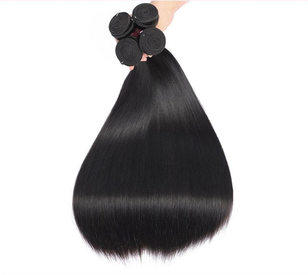 Human Hair Weave Hair Bundles, Straight Weave Bundles-Human Hair Weave-online-10inches-hair-extensions-wigs.com