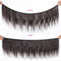 Human Hair Weave Hair Bundles, Straight Weave Bundles-Human Hair Weave-online-hair-extensions-wigs.com