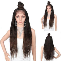 Kylie Braided Wig - 30 inches Lace Front Wig-Wig-Hair Extensions & Wigs