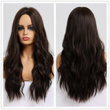 Long Synthetic Wigs Ombre Brown Blonde-Synthetic Wigs-online-LC179-468-hair-extensions-wigs.com