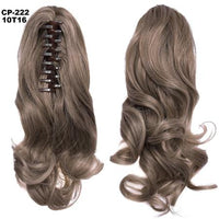 Ponytail Hair Extensions, Clip-in Ponytail Extensions-Hair Extensions-online-10T16-hair-extensions-wigs.com