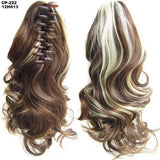 Ponytail Hair Extensions, Clip-in Ponytail Extensions-Hair Extensions-online-12H613-hair-extensions-wigs.com