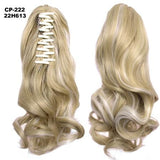Ponytail Hair Extensions, Clip-in Ponytail Extensions-Hair Extensions-online-22H613-hair-extensions-wigs.com