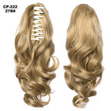Ponytail Hair Extensions, Clip-in Ponytail Extensions-Hair Extensions-online-27B-hair-extensions-wigs.com