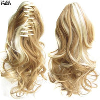 Ponytail Hair Extensions, Clip-in Ponytail Extensions-Hair Extensions-online-27H613-hair-extensions-wigs.com
