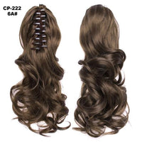 Ponytail Hair Extensions, Clip-in Ponytail Extensions-Hair Extensions-online-6A-hair-extensions-wigs.com