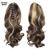 Ponytail Hair Extensions, Clip-in Ponytail Extensions-Hair Extensions-online-8H22-hair-extensions-wigs.com