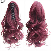 Ponytail Hair Extensions, Clip-in Ponytail Extensions-Hair Extensions-online-99J-hair-extensions-wigs.com