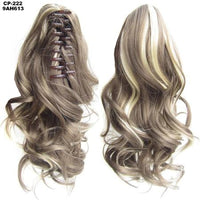 Ponytail Hair Extensions, Clip-in Ponytail Extensions-Hair Extensions-online-9AH613-hair-extensions-wigs.com