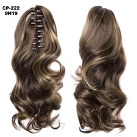 Ponytail Hair Extensions, Clip-in Ponytail Extensions-Hair Extensions-online-9H19-hair-extensions-wigs.com