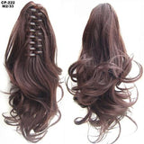 Ponytail Hair Extensions, Clip-in Ponytail Extensions-Hair Extensions-online-M2-33-hair-extensions-wigs.com