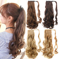 Ponytail Hair Extensions, Synthetic Wrap-around Ponytail-Hair Extensions-online-hair-extensions-wigs.com