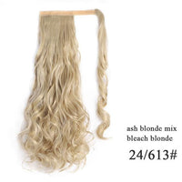Ponytail Hair Extensions, Synthetic Wrap-around Ponytail-Hair Extensions-online-24-613 2-hair-extensions-wigs.com