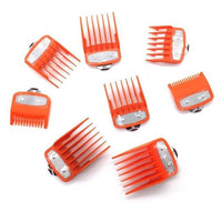 Professional Hair Clippers 8 Pcs/Set-Hair Clippers-online-Orange-hair-extensions-wigs.com