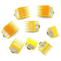 Professional Hair Clippers 8 Pcs/Set-Hair Clippers-online-Yellow-hair-extensions-wigs.com