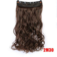 Rio Curly Clip-In Hair Extensions-Hair Extensions-online-#144-hair-extensions-wigs.com