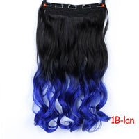 Rio Curly Clip-In Hair Extensions-Hair Extensions-online-#1B-hair-extensions-wigs.com