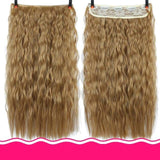 Rio Curly Clip-In Hair Extensions-Hair Extensions-online-1B/27HL-hair-extensions-wigs.com