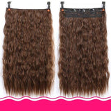 Rio Curly Clip-In Hair Extensions-Hair Extensions-online-1B/30HL-hair-extensions-wigs.com