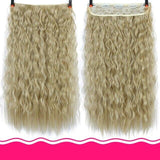 Rio Curly Clip-In Hair Extensions-Hair Extensions-online-4/27HL-hair-extensions-wigs.com