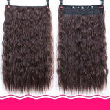 Rio Curly Clip-In Hair Extensions-Hair Extensions-online-Natural Color-hair-extensions-wigs.com