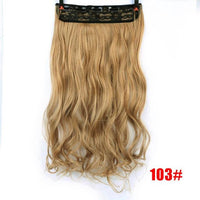 Rio Curly Clip-In Hair Extensions-Hair Extensions-online-P1B/27-hair-extensions-wigs.com