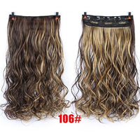 Rio Curly Clip-In Hair Extensions-Hair Extensions-online-P4/24-hair-extensions-wigs.com