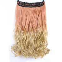 Rio Curly Clip-In Hair Extensions-Hair Extensions-online-T1B/4/27-hair-extensions-wigs.com