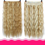 Rio Curly Clip-In Hair Extensions-Hair Extensions-online-T1B/4/30-hair-extensions-wigs.com