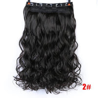 Rio Curly Clip-In Hair Extensions-Hair Extensions-online-T27/30/4-hair-extensions-wigs.com