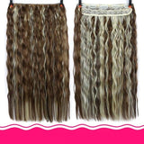 Rio Curly Clip-In Hair Extensions-Hair Extensions-online-T4/27/30-hair-extensions-wigs.com