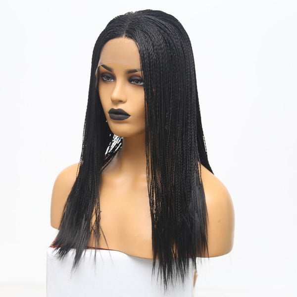 Synthetic Twist Braids Wig Lace-Wig-online-20inches-hair-extensions-wigs.com
