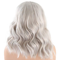 Synthetic Wig, Body Wave Wig, Glueless, Grey-Wig-online-hair-extensions-wigs.com