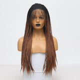 Synthetic Wig, Braids Wig, Lace Front Wig For Women-Wig-online-18inches-hair-extensions-wigs.com