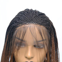 Synthetic Wig, Braids Wig, Lace Front Wig For Women-Wig-online-hair-extensions-wigs.com
