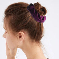 Velvet Ponytail Hairband-Hair Clips-online-hair-extensions-wigs.com