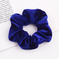Velvet Ponytail Hairband-Hair Clips-online-Blue-hair-extensions-wigs.com