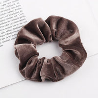 Velvet Ponytail Hairband-Hair Clips-online-Brownish-hair-extensions-wigs.com