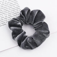 Velvet Ponytail Hairband-Hair Clips-online-Grey-hair-extensions-wigs.com